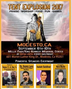 Tent Explosion 2017 @ Mellis Park | Modesto | California | United States