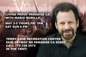 Living Proof Paradise California @ Terry Ashe Recreation Center